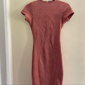 Pink Blush Windsor Midi Bodycon Dress